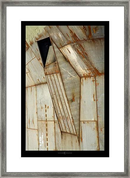 Hull Detail Framed Print