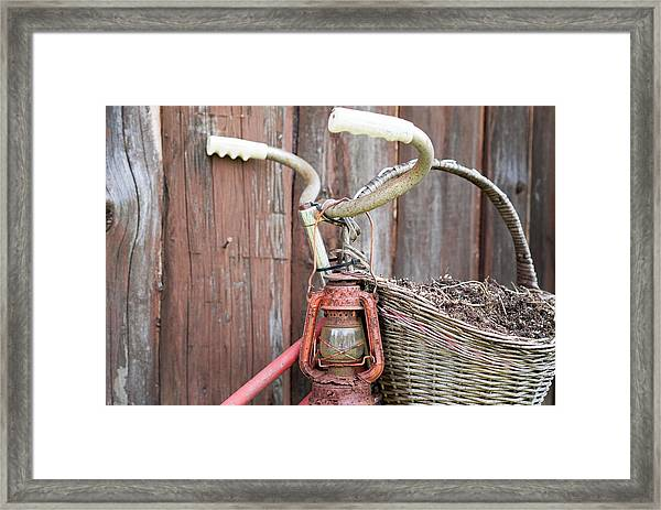 Forgotten By Time Framed Print