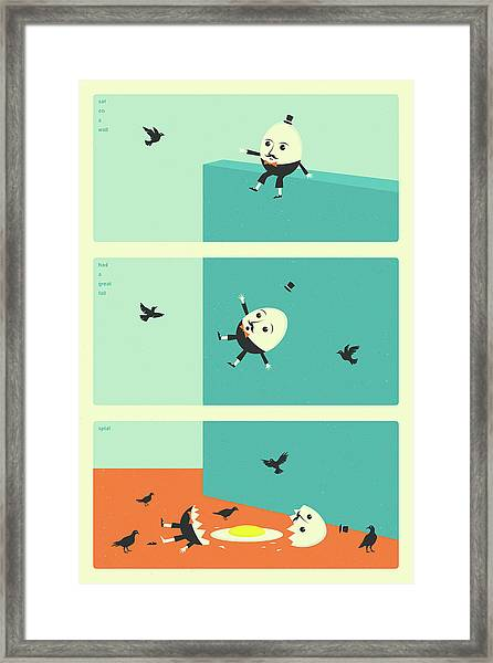Humpty Dumpty Framed Print