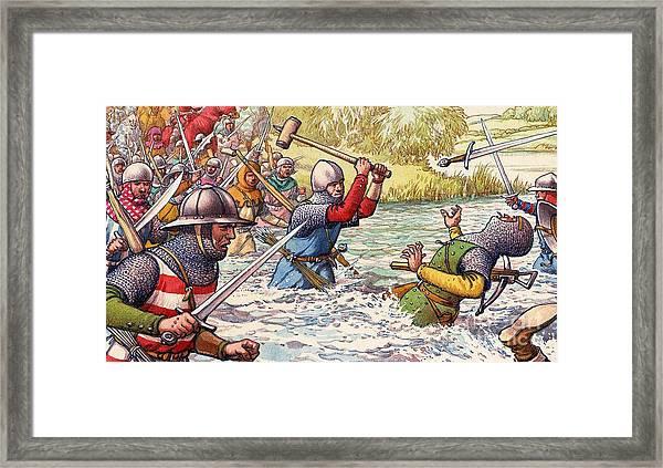 Hundred Years War Framed Print