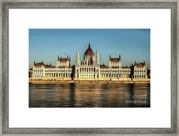 Hungarian National Parliament Framed Print