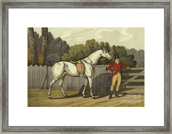 Hunter Framed Print