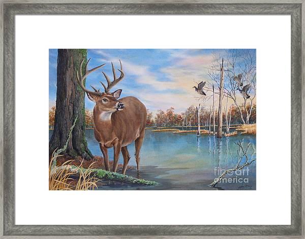 Hunters Dream Sold Framed Print