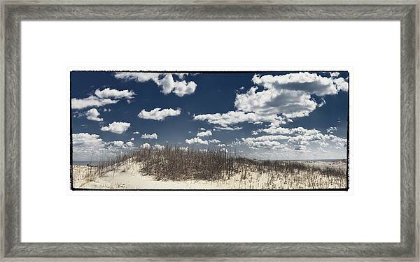 Hunting Island Beach Framed Print