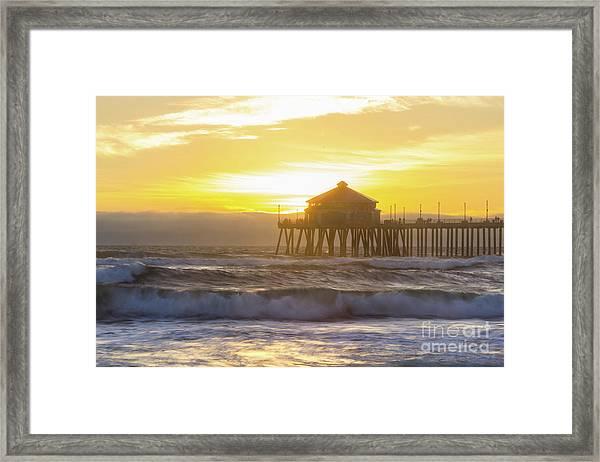 Huntington Peir 2 Framed Print