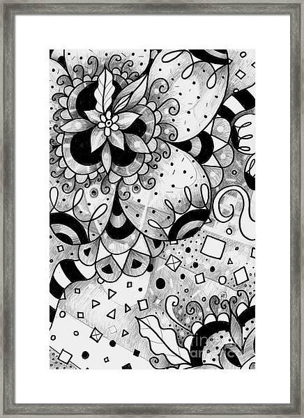 Hurlyburly Framed Print