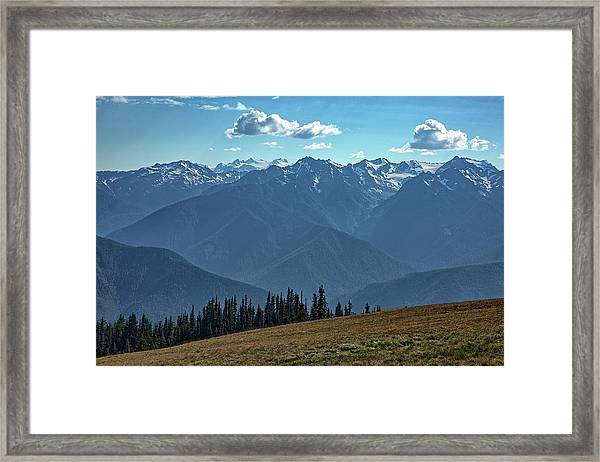 Hurricane Ridge Framed Print