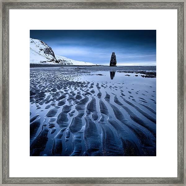 Hvitserkur, Iceland Framed Print
