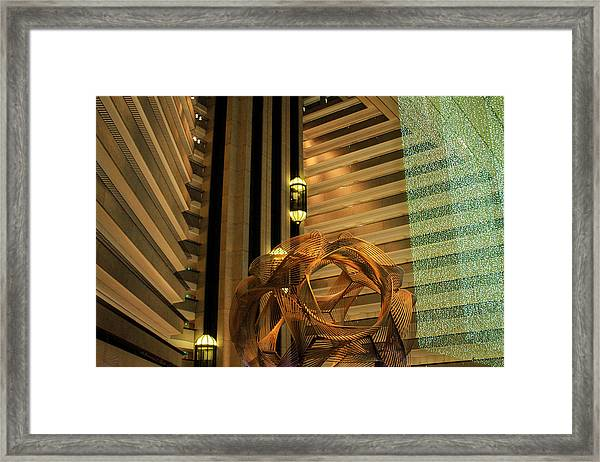 Hyatt Regency Sf Atrium Framed Print