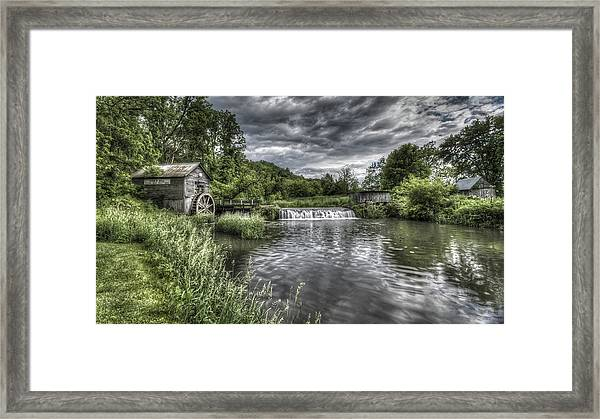 Hyde's Mill Framed Print