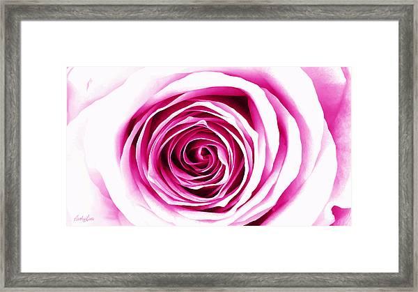 Hypnotic Pink Framed Print