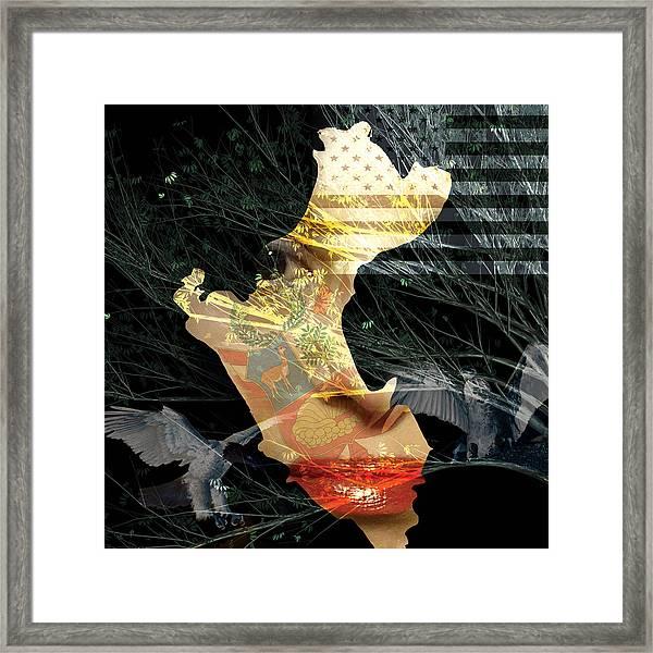 I Am An American Framed Print