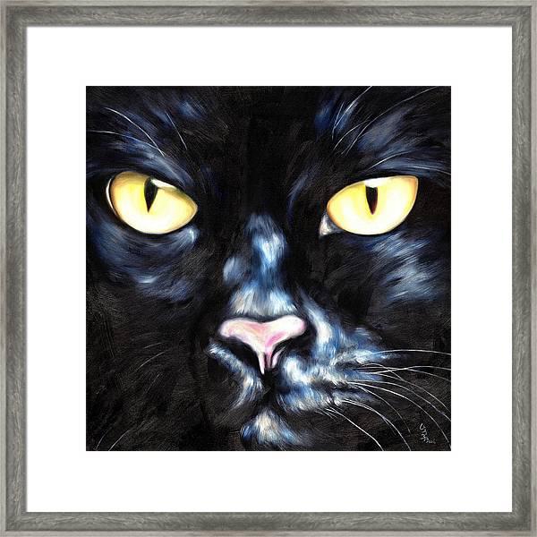 I Am Night Framed Print