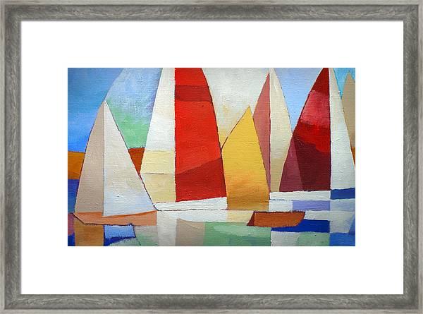 I Am Sailing X L Framed Print