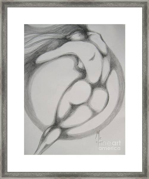 I Am The Wind Framed Print