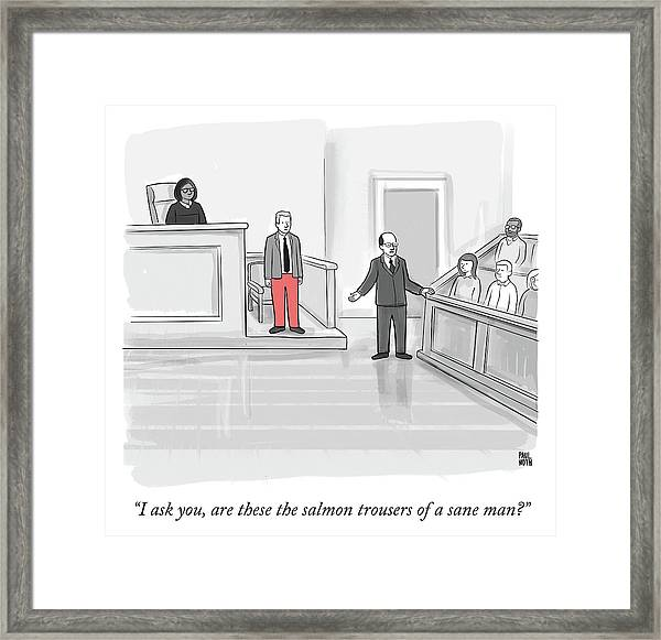 I Ask You Framed Print