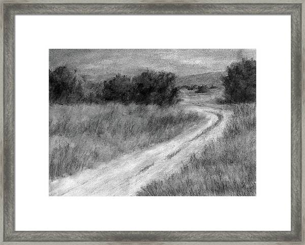 I Can See For Miles Study Framed Print