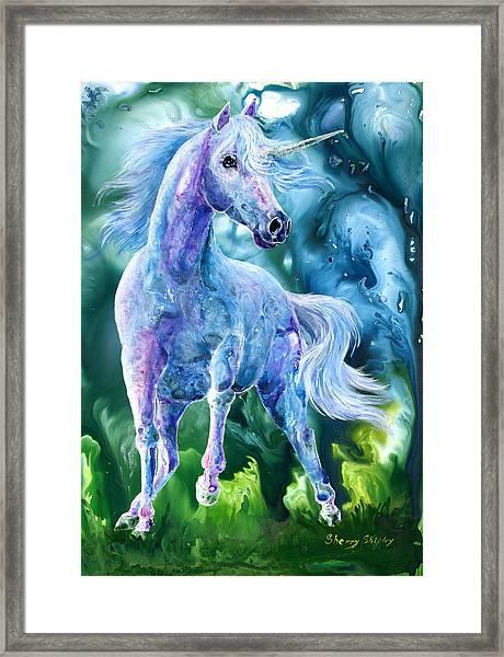 I Dream Of Unicorns Framed Print