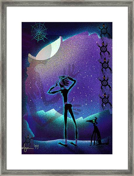 I Had A Dream About You Framed Print