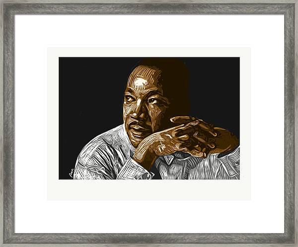 I Have A Dream . . . Framed Print