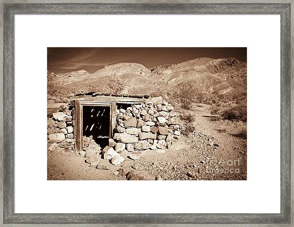I Love What You've Done With The Place Framed Print