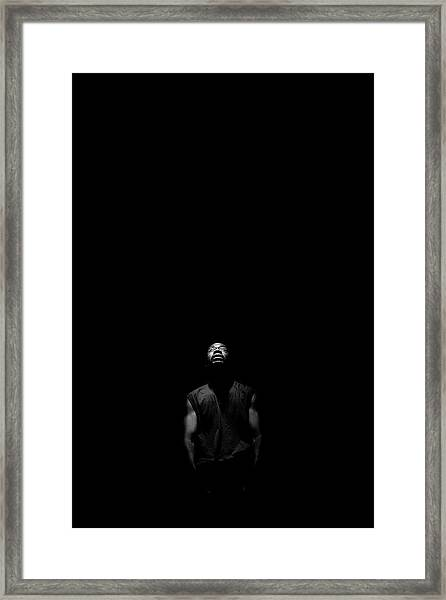I See Your Face Framed Print