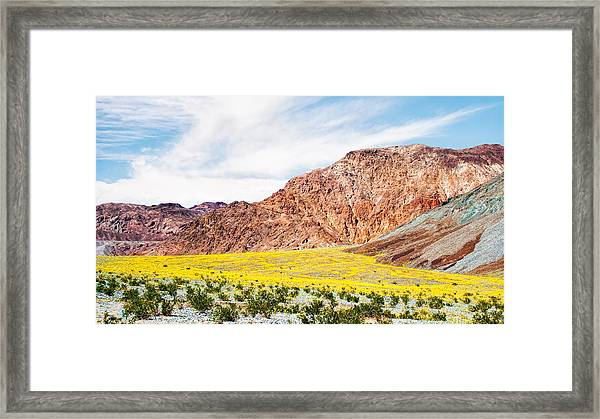 I Want To Be There Framed Print