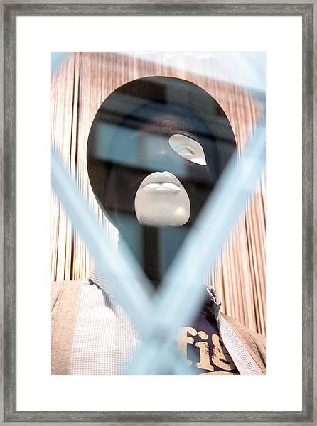 I Want  You To Be My Wife Framed Print by Jez C Self