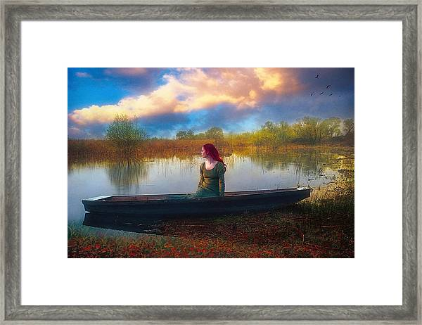 I Will Wait For You Framed Print