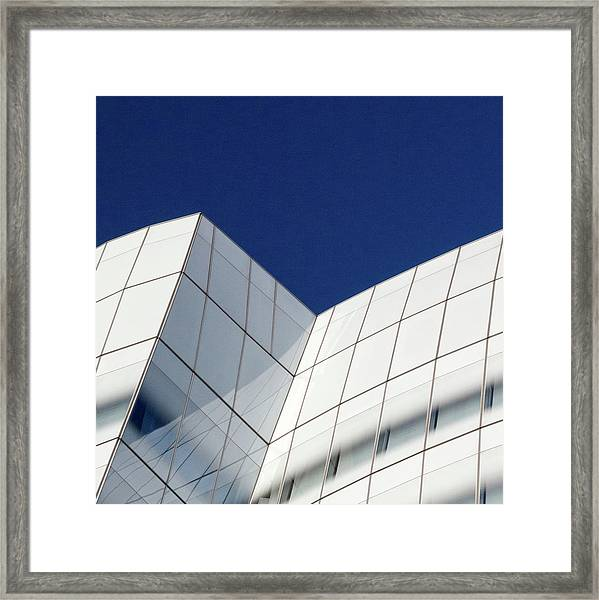 Framed Print featuring the photograph Iac Sky by Eric Lake
