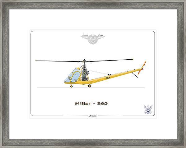 Iaf Hiller 360 Framed Print