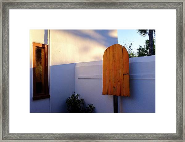 Ice Cream Shop Wooden Popsicle In Saint Augustine Florida Framed Print