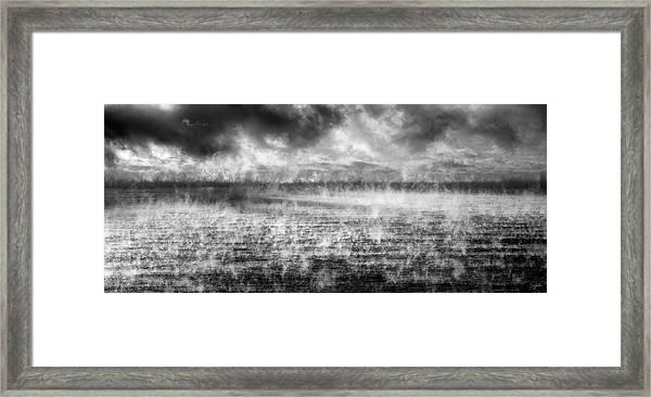 Ice Fog  Framed Print