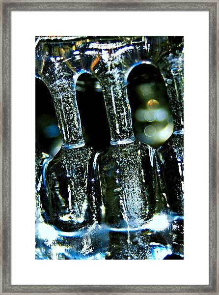 Ice Formation 02 Framed Print