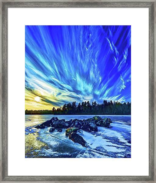 Icebound 3 Framed Print