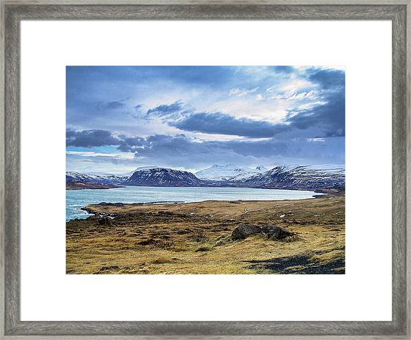 Icelandic Blues Framed Print