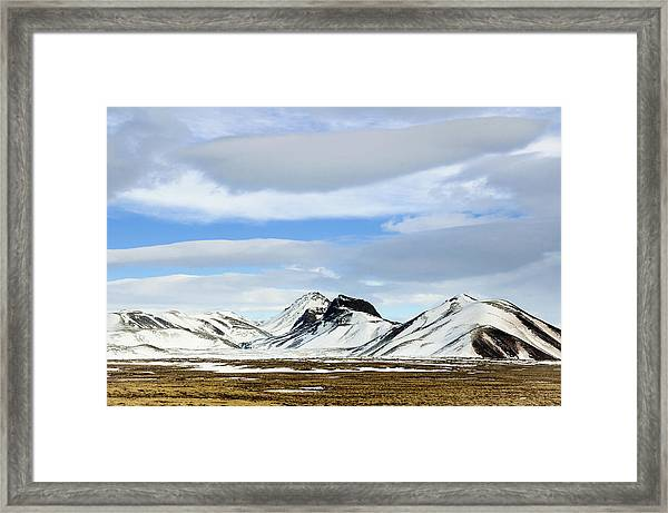 Icelandic Wilderness Framed Print