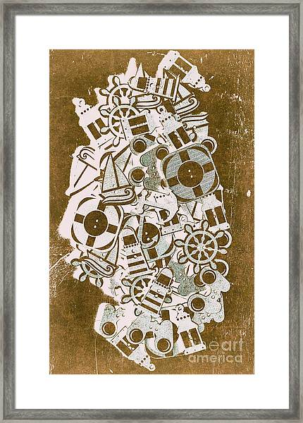 Icon Island Framed Print
