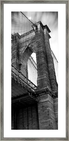 Iconic Arches Framed Print