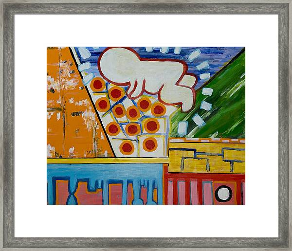 Iconic Baby Framed Print