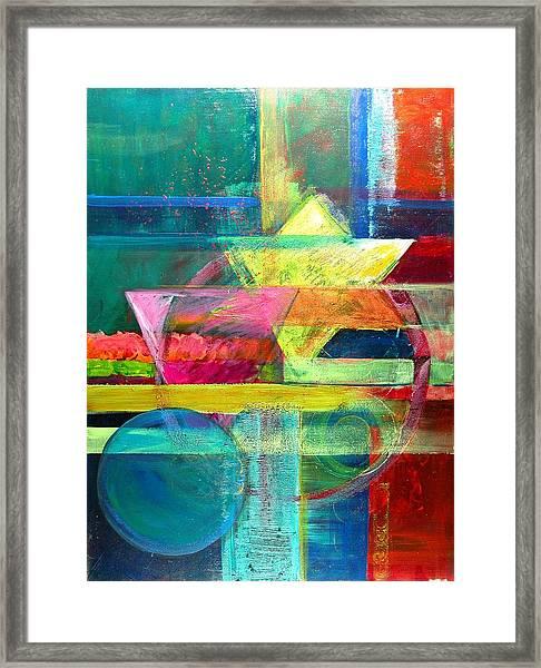 Iconography II Framed Print