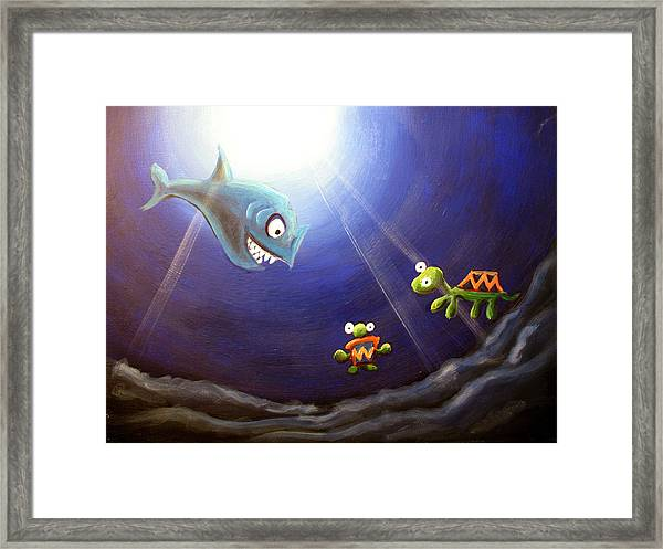 Icthyology No.2 Framed Print by Michelle Barone