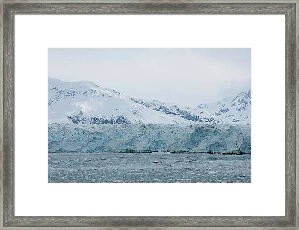 Icy Wonderland Framed Print
