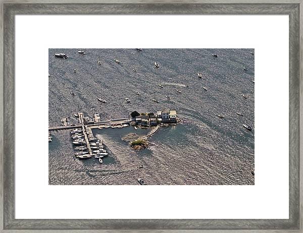 Ida Lewis Yacht Club Newport Rhode Island Framed Print by Duncan Pearson