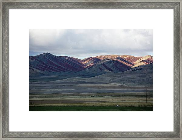 Idaho Red Framed Print