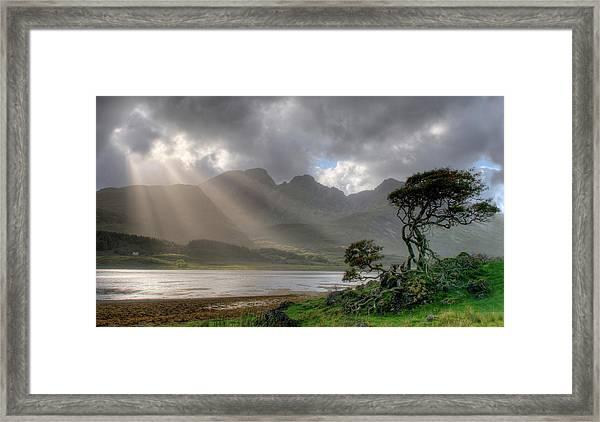 Nature Landscape Isle Of Sky Scotland Framed Print