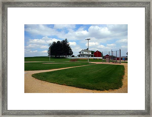 If You Build It They Will Come Framed Print