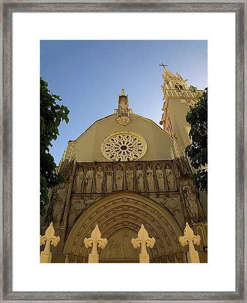 Iglesia San Jorge Framed Print