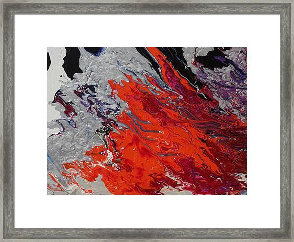 Ignition Framed Print