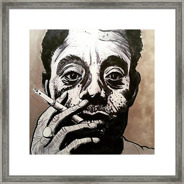 James Baldwin Framed Print by Russell Boyle